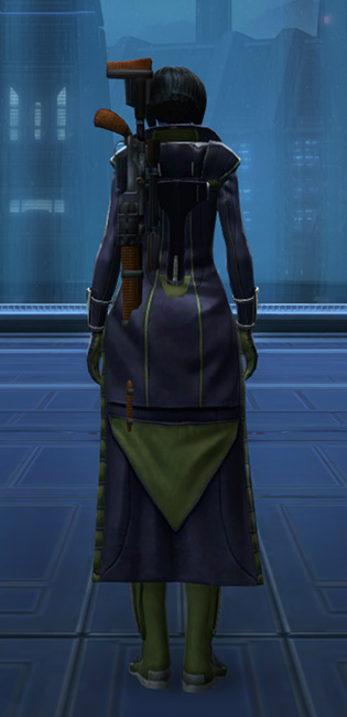 Subversive Armor Set player-view from Star Wars: The Old Republic.