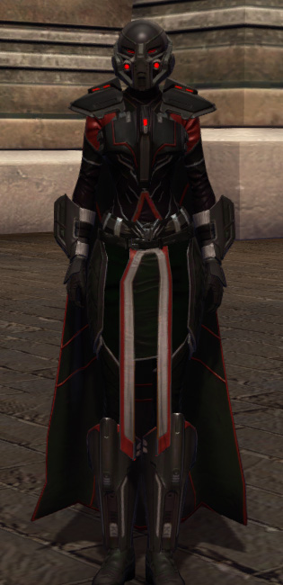Taskmaster Armor Set Outfit from Star Wars: The Old Republic.