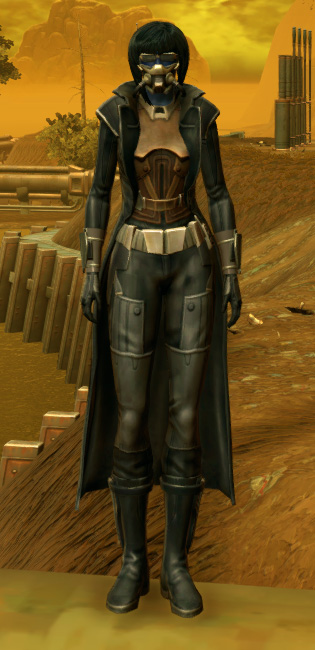 TD-07A Scorpion Armor Set Outfit from Star Wars: The Old Republic.