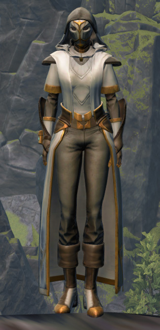 Temple Guardian Armor Set Outfit from Star Wars: The Old Republic.