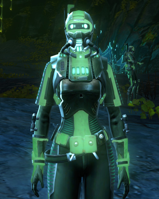 THORN Dark Vector (Green) Armor Set Preview from Star Wars: The Old Republic.