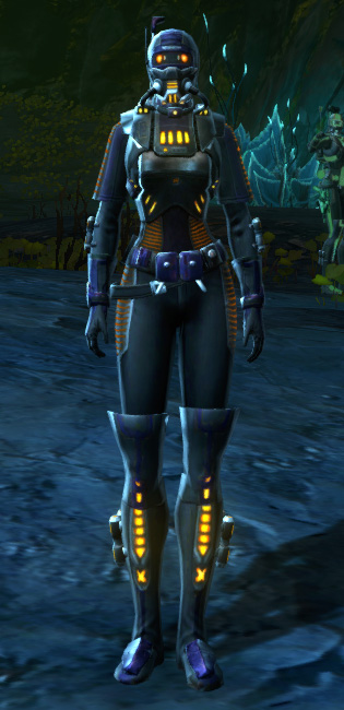 THORN Epicenter (Red) Armor Set Outfit from Star Wars: The Old Republic.