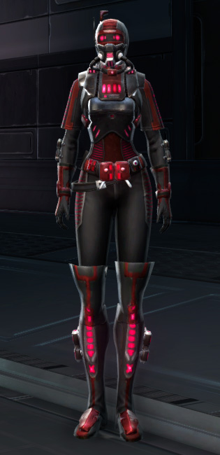 THORN Sanitization Armor Set Outfit from Star Wars: The Old Republic.
