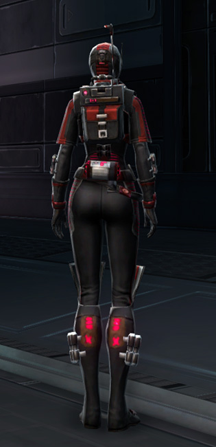 THORN Sanitization Armor Set player-view from Star Wars: The Old Republic.