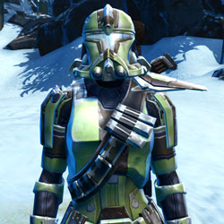 Trooper's Exalted Armor Set armor thumbnail.