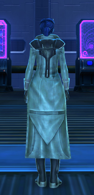 Titanium Onslaught Armor Set player-view from Star Wars: The Old Republic.