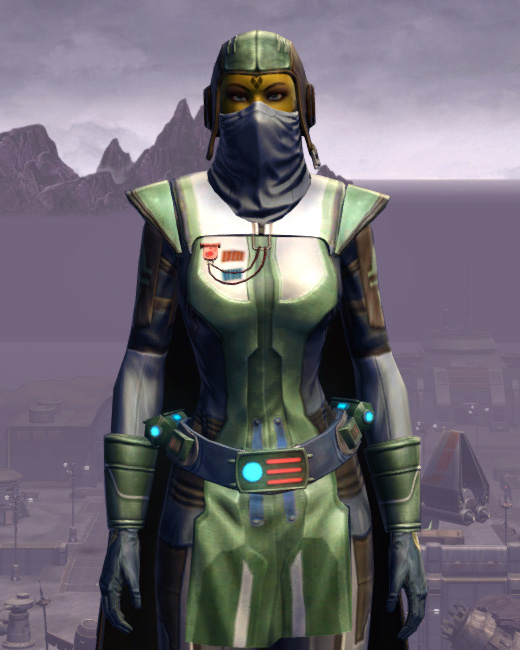 Titanium Onslaught Armor Set Preview from Star Wars: The Old Republic.