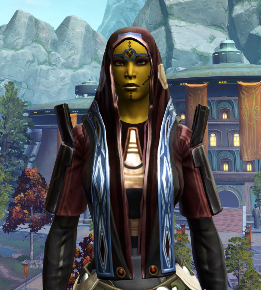 Traditional Brocart Armor Set from Star Wars: The Old Republic.
