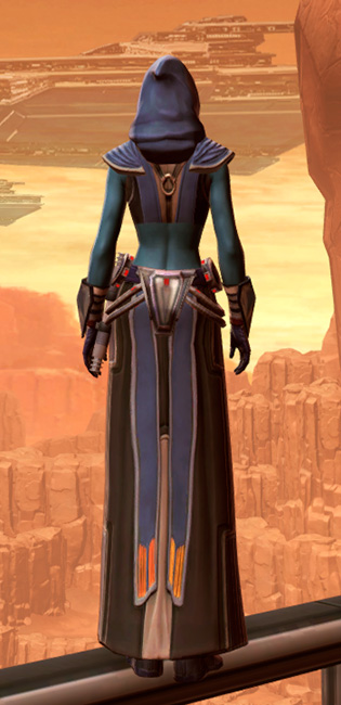 Traditional Demicot Armor Set player-view from Star Wars: The Old Republic.