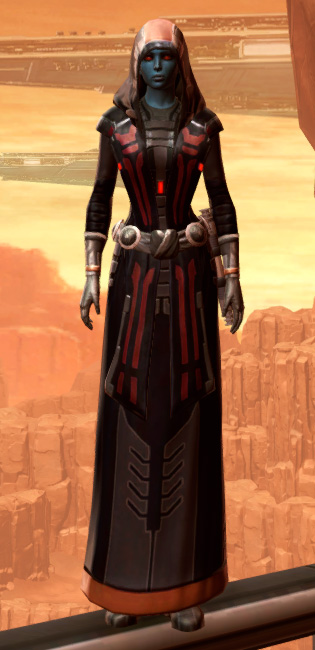 Traditional Nylite Armor Set Outfit from Star Wars: The Old Republic.