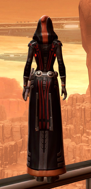 Traditional Nylite Armor Set player-view from Star Wars: The Old Republic.