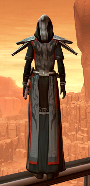 Traditional Thermoweave Armor Set player-view from Star Wars: The Old Republic.