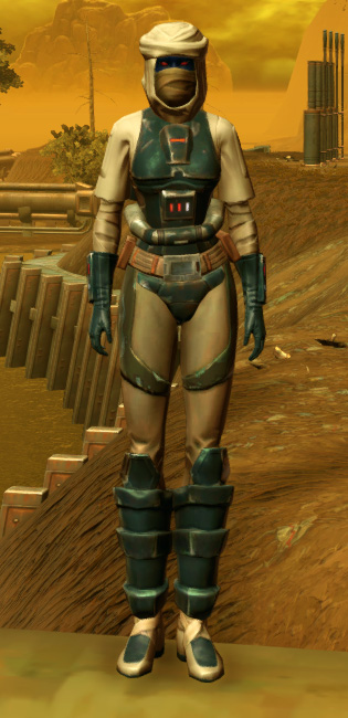 Trainee Armor Set Outfit from Star Wars: The Old Republic.