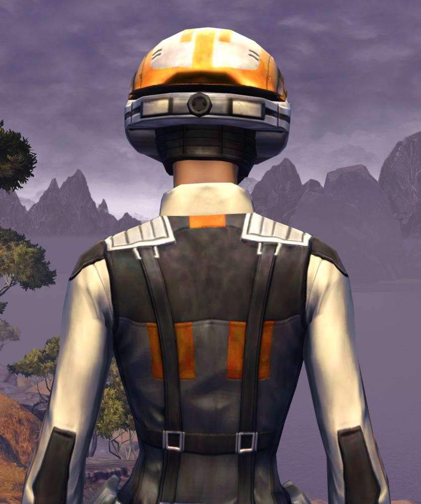 Trainee Armor Set detailed back view from Star Wars: The Old Republic.