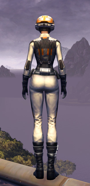 Trainee Armor Set player-view from Star Wars: The Old Republic.