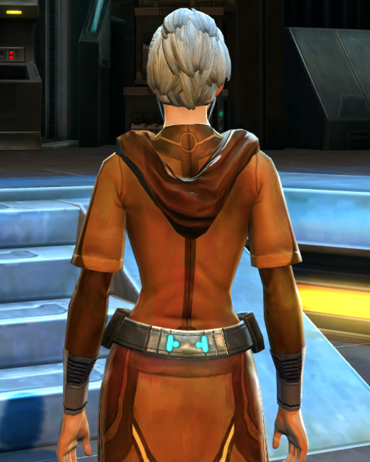 Traveler (Republic) Armor Set Back from Star Wars: The Old Republic.