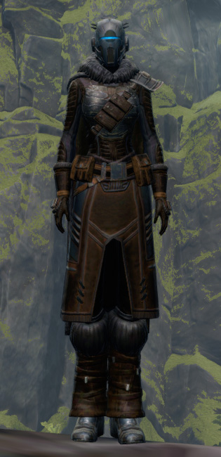 Tribal Champion Armor Set Outfit from Star Wars: The Old Republic.