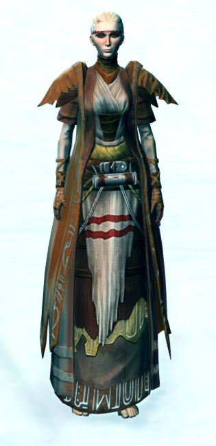 Tribal Hermit Armor Set Outfit from Star Wars: The Old Republic.