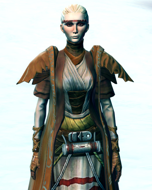 Tribal Hermit Armor Set Preview from Star Wars: The Old Republic.