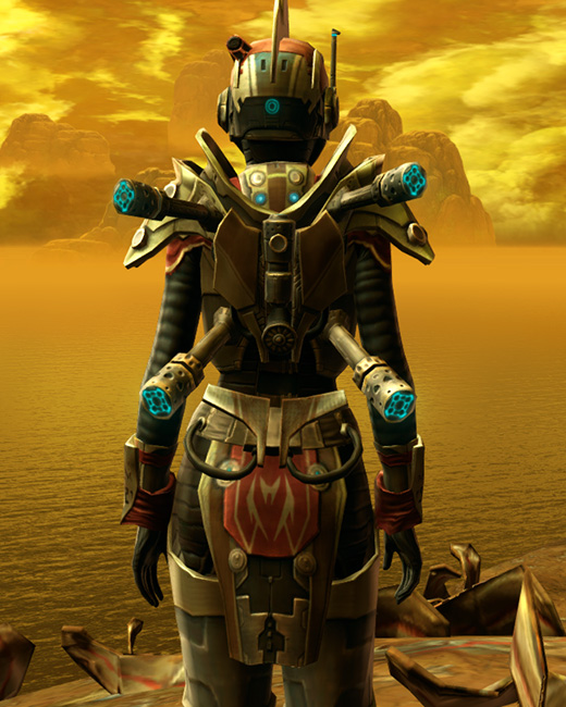 Trimantium Asylum Armor Set Back from Star Wars: The Old Republic.