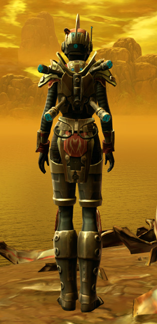 Trimantium Asylum Armor Set player-view from Star Wars: The Old Republic.