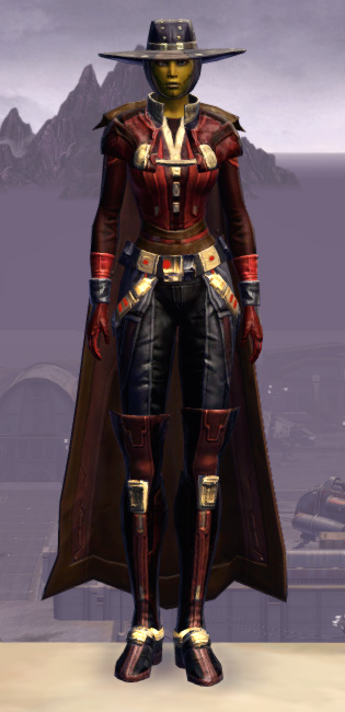 Trimantium Onslaught Armor Set Outfit from Star Wars: The Old Republic.