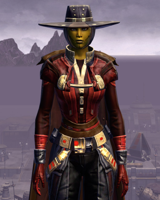 Trimantium Onslaught Armor Set Preview from Star Wars: The Old Republic.