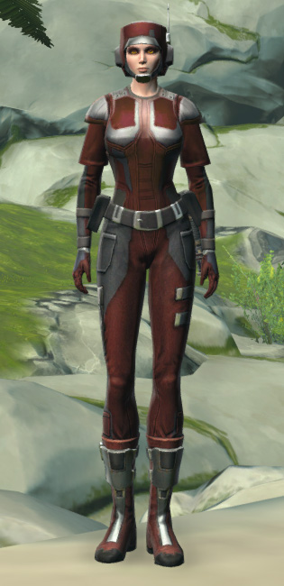 Ubrikkian Industries Corporate Armor Set Outfit from Star Wars: The Old Republic.