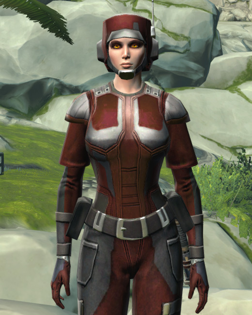 Ubrikkian Industries Corporate Armor Set Preview from Star Wars: The Old Republic.