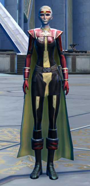 Ulgo Noble Armor Set Outfit from Star Wars: The Old Republic.