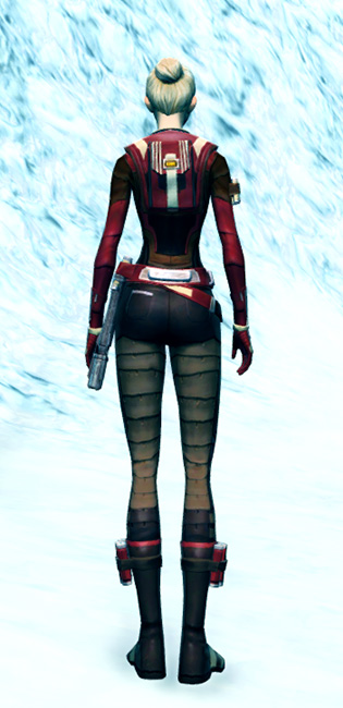 Underworld Enforcer Armor Set player-view from Star Wars: The Old Republic.
