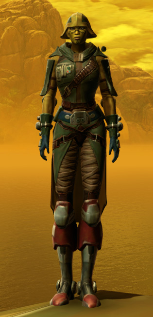 Vagabond Armor Set Outfit from Star Wars: The Old Republic.