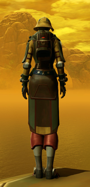 Vagabond Armor Set player-view from Star Wars: The Old Republic.