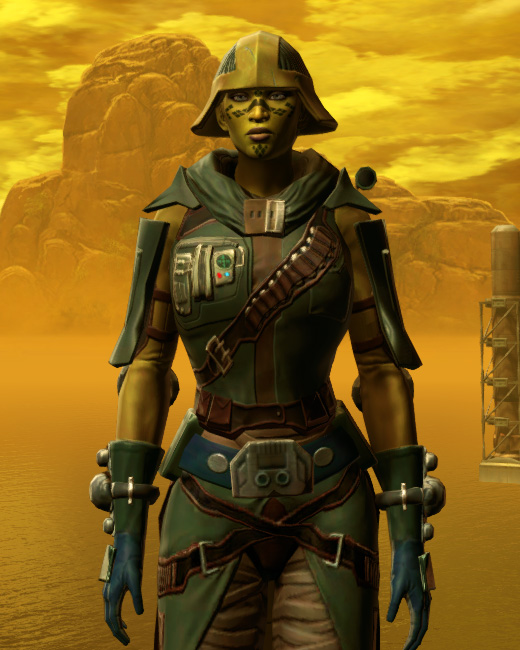 Vagabond Armor Set Preview from Star Wars: The Old Republic.