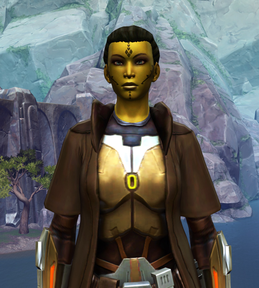 Valiant Jedi Armor Set from Star Wars: The Old Republic.