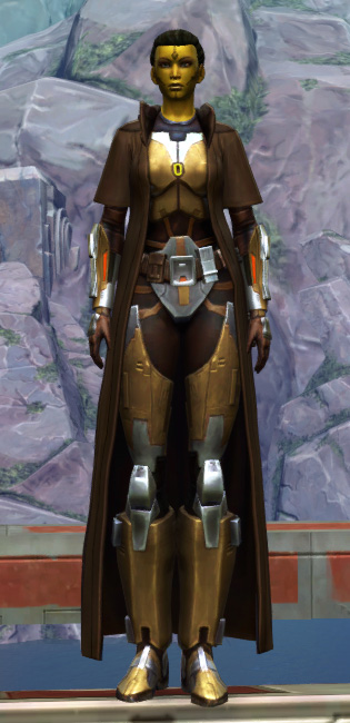 Valiant Jedi Armor Set Outfit from Star Wars: The Old Republic.