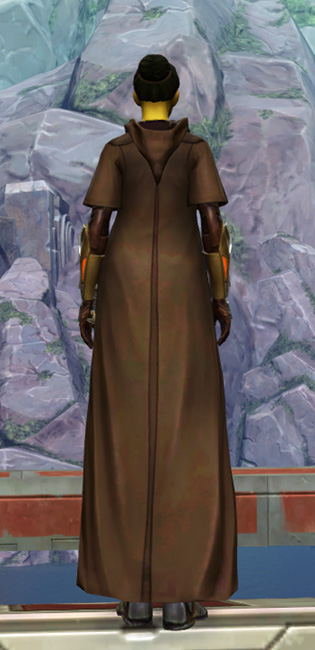 Valiant Jedi Armor Set player-view from Star Wars: The Old Republic.