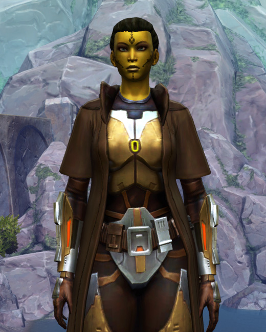 Valiant Jedi Armor Set Preview from Star Wars: The Old Republic.