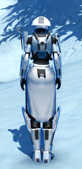 Vandinite Asylum Armor Set player-view from Star Wars: The Old Republic.