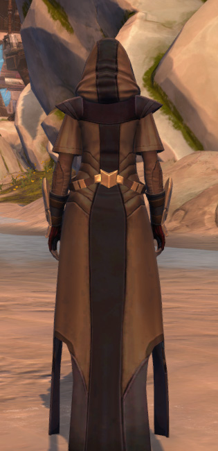 Veda Cloth Vestments Armor Set player-view from Star Wars: The Old Republic.