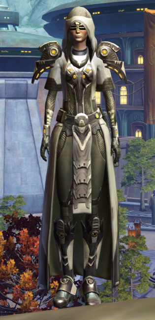 Veda Aegis Armor Set Outfit from Star Wars: The Old Republic.