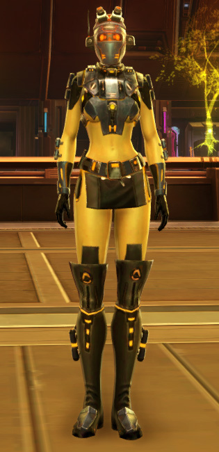 Ventilated Scalene Armor Set Outfit from Star Wars: The Old Republic.
