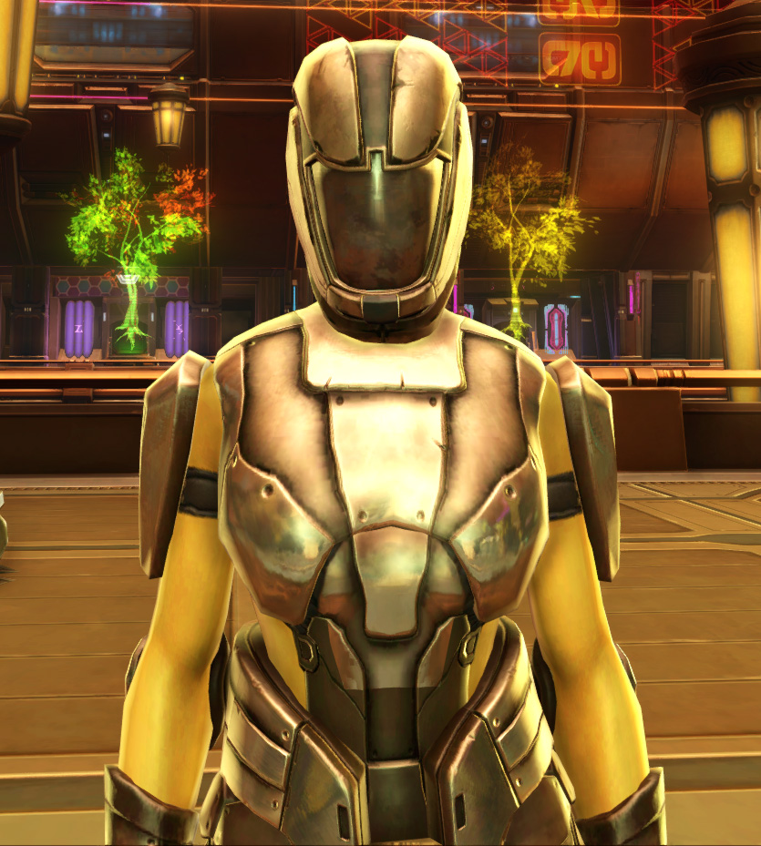 Ventilated Triumvirate Armor Set from Star Wars: The Old Republic.