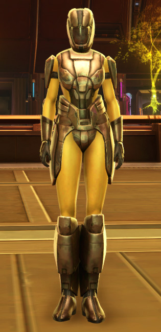 Ventilated Triumvirate Armor Set Outfit from Star Wars: The Old Republic.