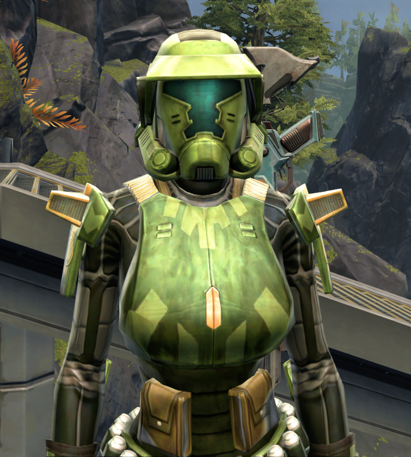 Veteran Ranger Armor Set from Star Wars: The Old Republic.