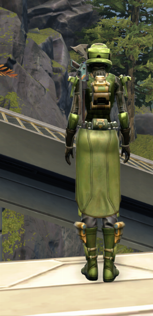 Veteran Ranger Armor Set player-view from Star Wars: The Old Republic.