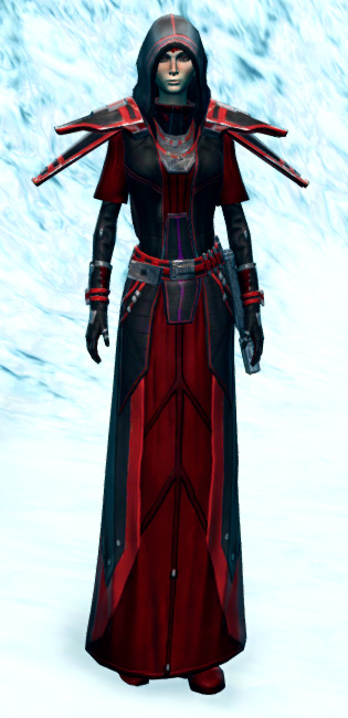 Vicious Adept Armor Set Outfit from Star Wars: The Old Republic.