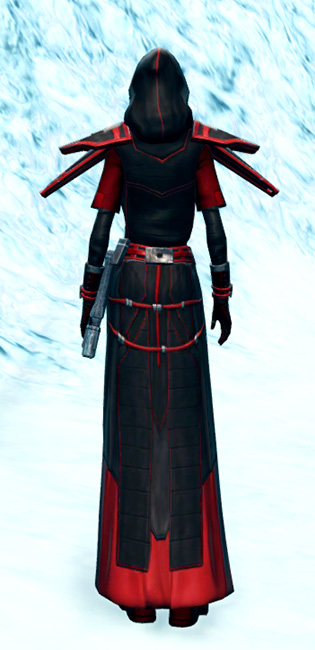Vicious Adept Armor Set player-view from Star Wars: The Old Republic.