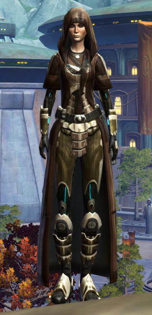 Vine-silk Aegis Armor Set Outfit from Star Wars: The Old Republic.