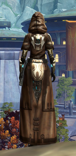 Vine-silk Aegis Armor Set player-view from Star Wars: The Old Republic.